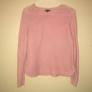 3/30Talbots open stitch sweater